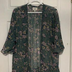 American Eagle Outfitters Kimono Cardigan